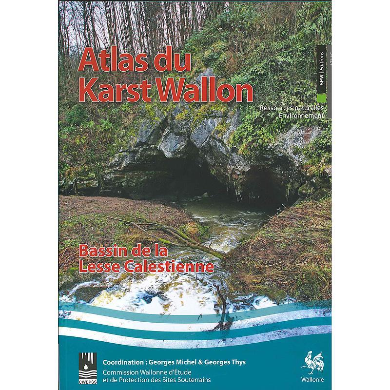 Atlas du Karst Wallon - Bassin de la Lesse Calestienne