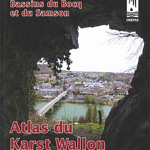 Atlas du Karst Wallon - Bassin du Bocq et du Samson (papier)
