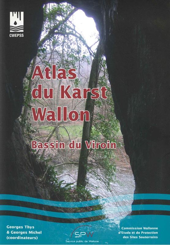 Atlas du Karst Wallon N° 01. Bassin du Viroin (papier)