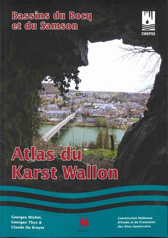 Atlas du Karst Wallon N°02. Bassin du Bocq et du Samson (papier)