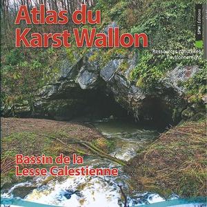 Atlas du Karst Wallon N°05. Bassin de la Lesse calestienne (papier)