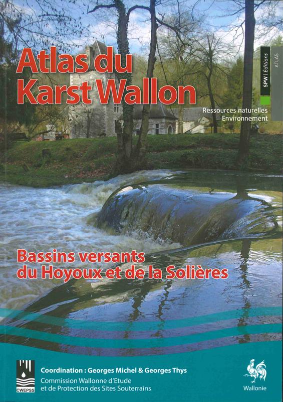 Atlas du Karst Wallon N°06.  Bassins versants du Hoyoux et de la Solières (papier)