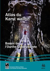 Atlas du Karst Wallon N°10. Bassin de l'Ourthe Condrusienne (papier)