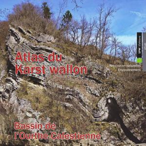 Atlas du Karst Wallon N°9. Bassin de l'Ourthe Calestienne (papier)