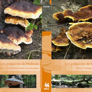 Faune - Flore - Habitats № 10. LOT DES 2 TOMES. Les polypores de Wallonie (papier)