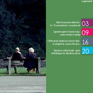 Les Échos du Logement - Numéro 2016-2 - Habitat des seniors (numérique)