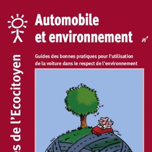 Les guides de l'Écocitoyen. Automobile et environnement (numérique)