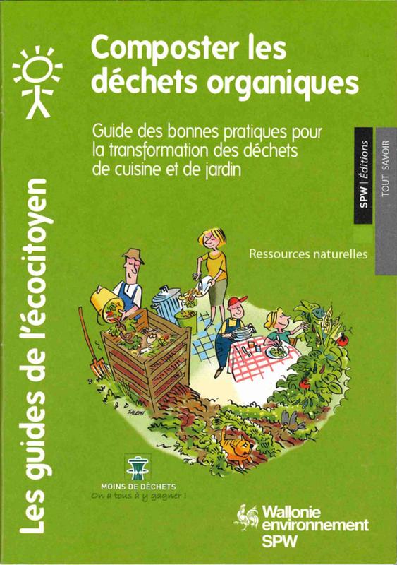 Les guides de l'Écocitoyen. Composter les déchets organiques [2018] (papier - numérique)
