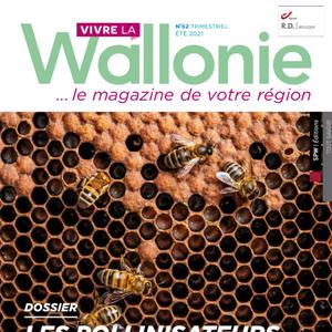 Vivre la Wallonie № 52 (Été 2021). Dossier : les pollinisateurs (papier - numérique)