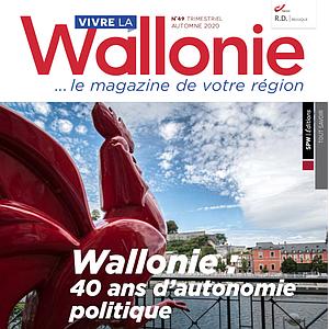 Vivre la Wallonie № 49 (Automne 2020). Wallonie : 40 ans d'autonomie politique (papier - numérique)
