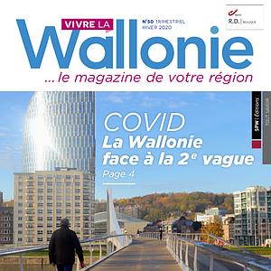 Vivre la Wallonie № 50 (Hiver 2020). COVID : la Wallonie face à la 2e vague (papier - numérique)