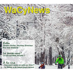 WaCynews № 22 (Janvier 2021). Comment rester en selle en hiver ? (numérique)